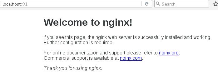 Nginx首页
